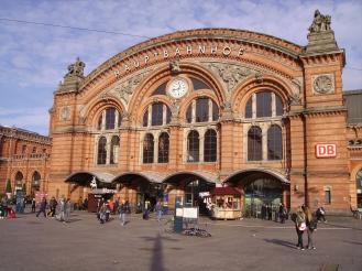 Bremen, Germany Hauptbahnhof