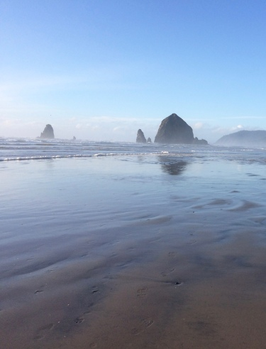 Haystack Rock, Cannon Beach, OR 10March2016.