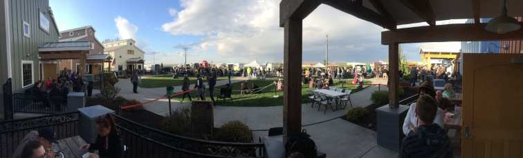 First Food Truck Night 2016 at the Port of Walla Walla Incubators.