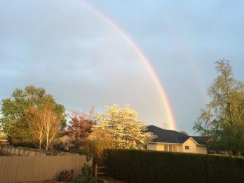 Double rainbow in W2 2016.