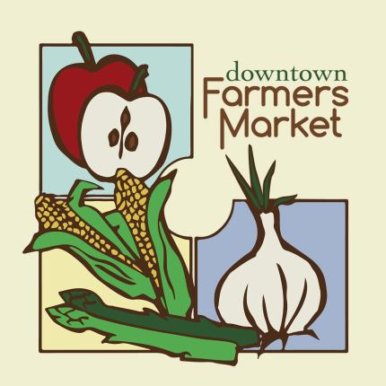 Walla Walla's downtown Farmer's Market logo.