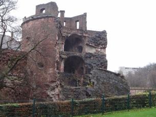 Heidelberg Castle ruins.