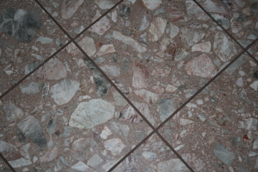 Pink and gray tile