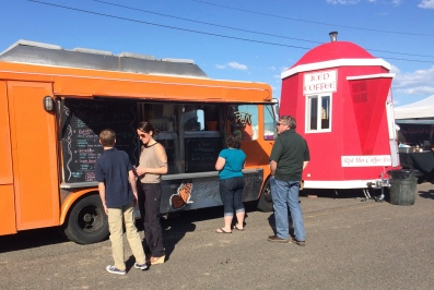 Tacos La Monarch food truck in Walla Walla.