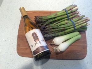 Locati produce, Locati wine, soon to be soup.