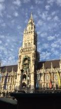 Munich's famous Glockenspiel.
