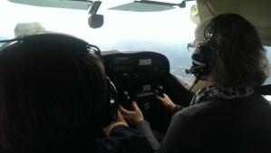 First taste of flying a small plane