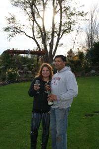 Renuka and Bob Dayal