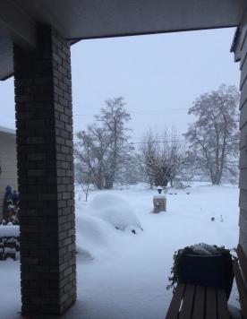 Walla Walla white December getting whiter.