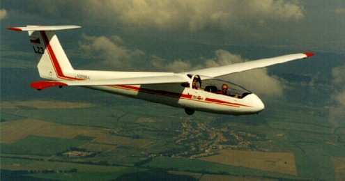 Blanik America stock photo of a L-23