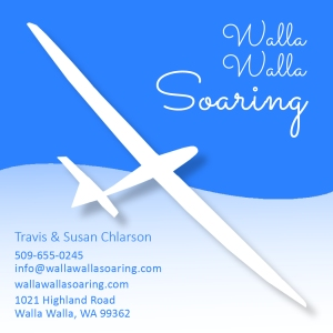 Walla Walla Soaring business card