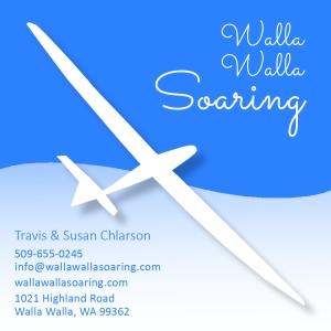 Walla Walla Soaring business card