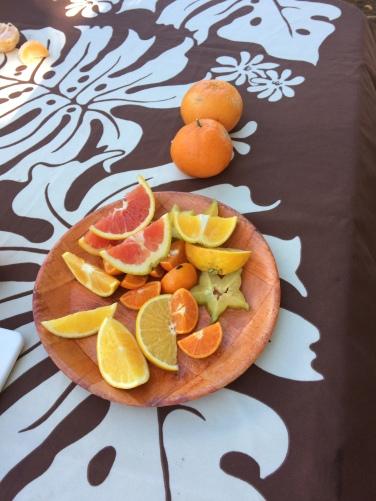 Citrus fruit at Kilohana outside of Lihue, Kauai.